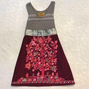 Free People detailed Boho dress